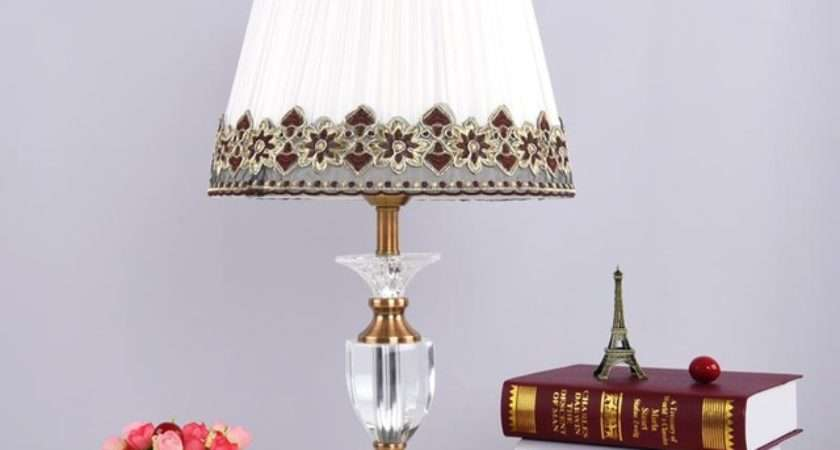 Buy Antique Brass Luxury Modern Crystal Table