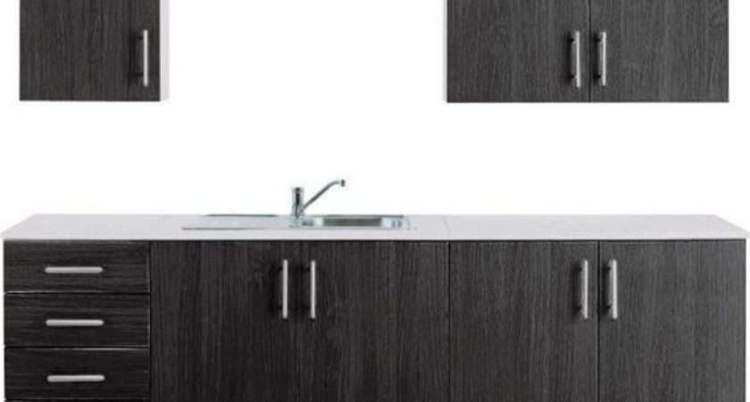 Buy Athina Piece Fitted Kitchen Unit Package Black Argos