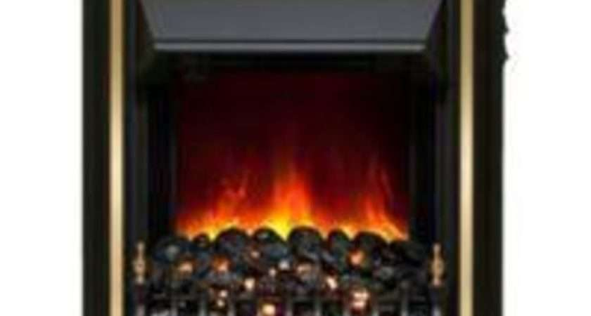 Buy Bemodern Viscount Black Led Display Electric Fire