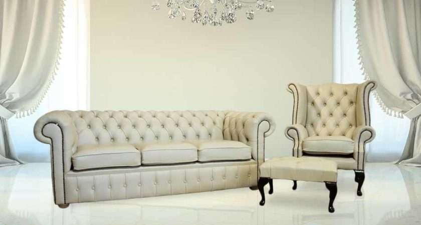 Buy Chesterfield Suite Leather Furniture Designersofas
