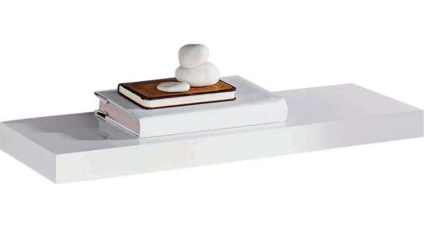 Buy Collection Glenmore High Gloss Floating Shelf