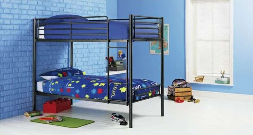 Buy Home Samuel Single Bunk Bed Ashley Mattress