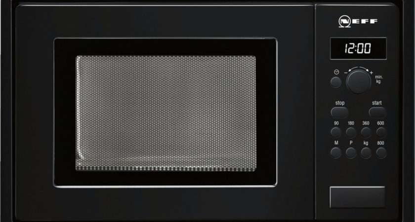 Buy Neff Built Solo Microwave Black