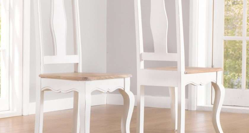 Buy Parisian Shabby Chic Dining Chairs Oak Furniture Superstore
