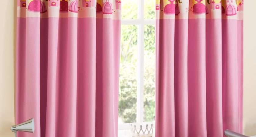 Buy Princess Blackout Pink Kids Curtains Home