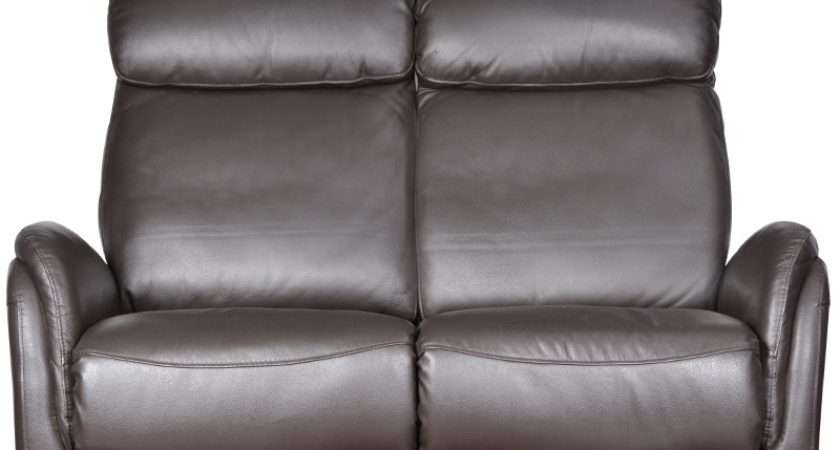 Buy Sleek Two Seater Leather Sofa Recliner Brown Colour