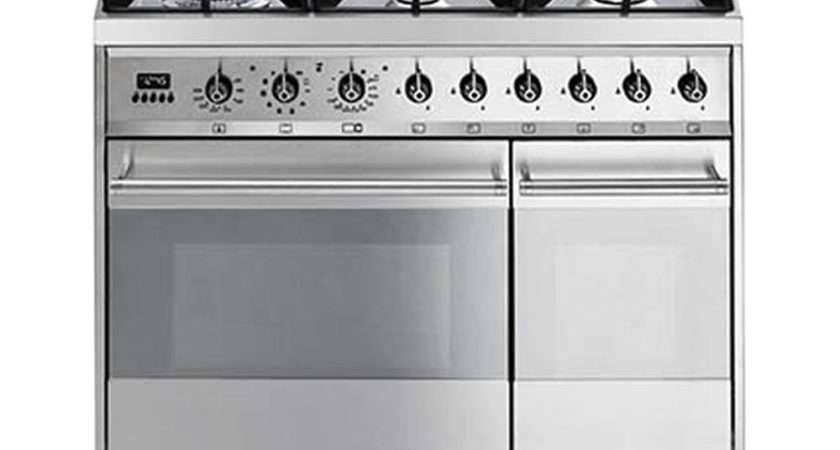 Buy Smeg Gpx Dual Fuel Range Cooker Stainless