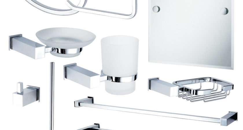 Buy Wall Mounted Chrome Trinity Accessory Collection