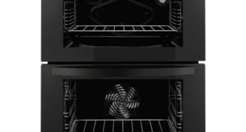 Buy Zanussi Zod Electric Double Oven Black