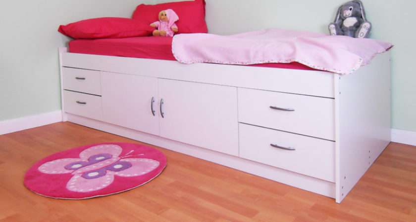 Cabin Bed Colour Options Ideal Children Safe Gamma