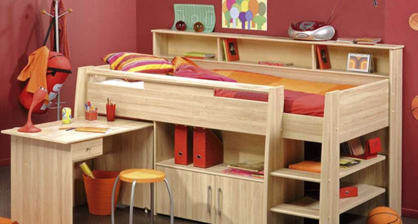Cabin Bed Small Room Teenagers