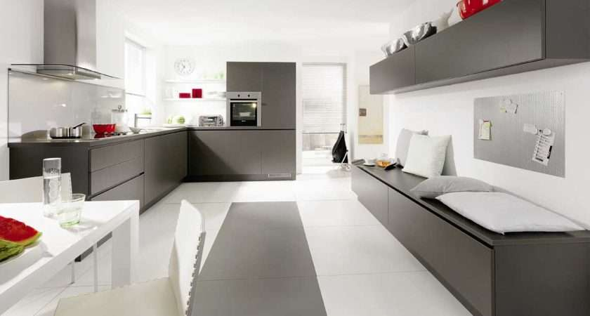 Cabinets Kitchen Grey Design