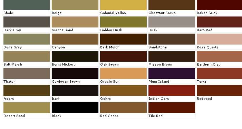 Cabot Factory Wood Stain Colors Fence Deck Stains Color