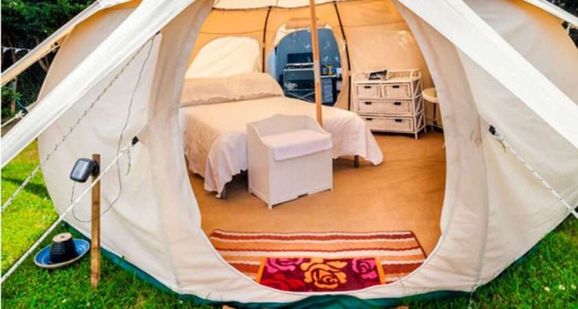 Camping Style These Lotus Belle Tents Ealuxe