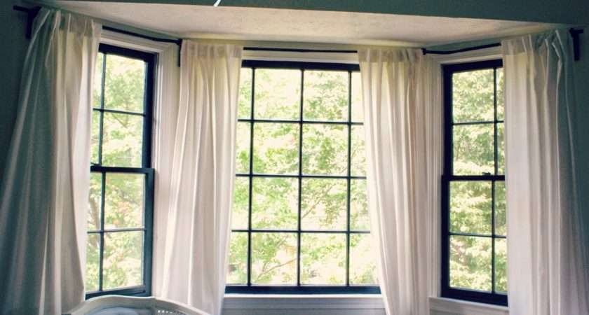 Can Bendable Curtain Rod Ikea Make Bay Window