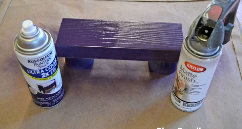 Can Spray Paint Varnished Wood