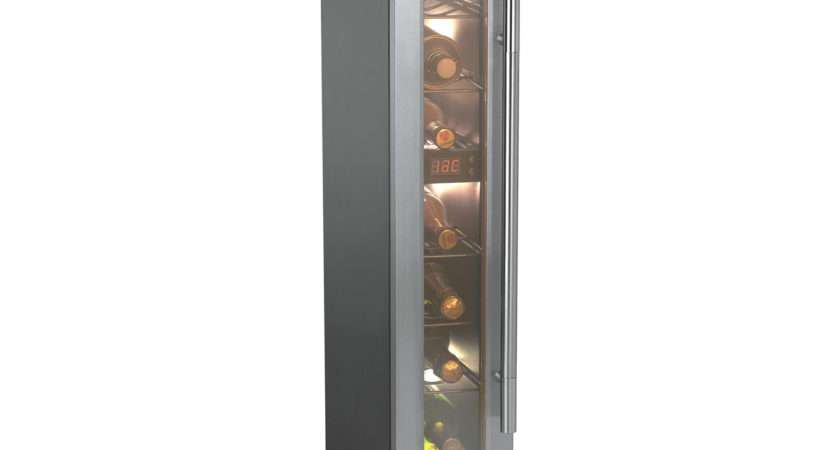Candy Ccvb Built Wine Cooler Stainless Steel