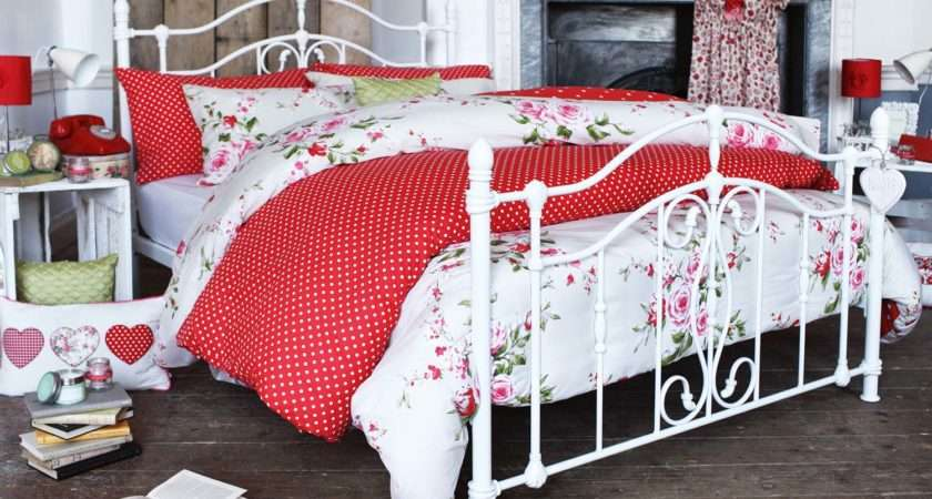 Canterbury Double Duvet Cover Red
