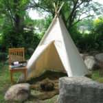 Canvas Teepee Play Tent Tipi Large Durable Theplayhousekid