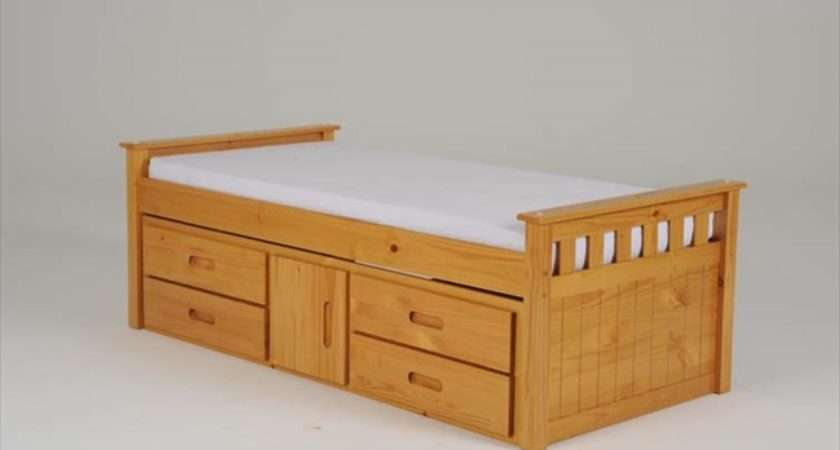 Captains Single Bed Drawers Storage Tbs Discount