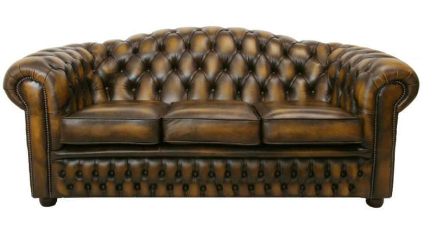Care Chesterfield Leather Furniture Ebay