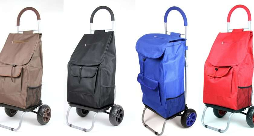 Cart Rolling Trolley Dolly Portable Compact Storage Bag