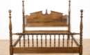Carved Poster Bed Loveseat Vintage Furniture San Diego