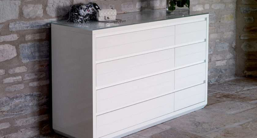 Casabella Adria Large Chest Drawers Bedroom Furniture London