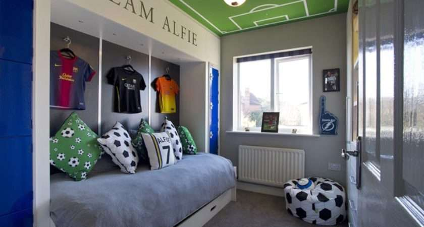 Case Study Football Themed Bedroom Projects Interiors