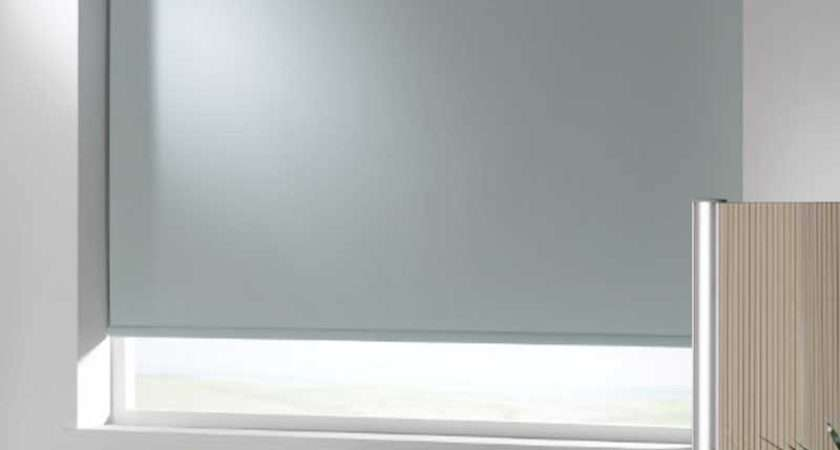 Cassetted Blackout Roller Broadview Blinds