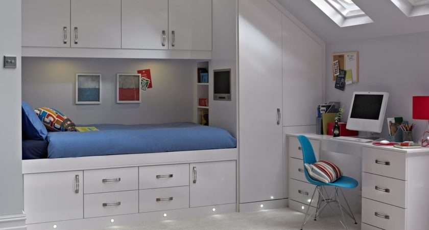 Cassia White Bedroom Fitted Bedrooms Betta Living