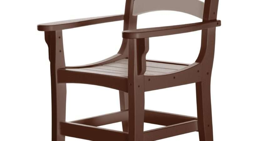 Casual Dining Chair Arms Pawleys Island
