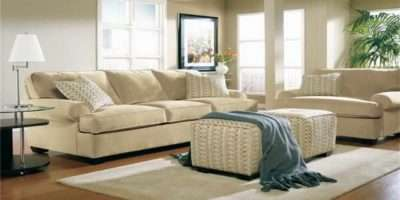 Casual Living Room Furniture White Carpet
