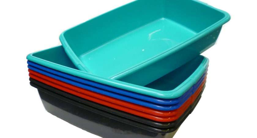 Cat Pet Litter Tray Different Sizes Colours Your