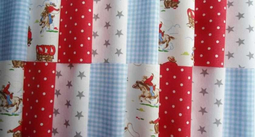 Cath Kidston Cowboy Other Patchwork Crafting Fabric Squares