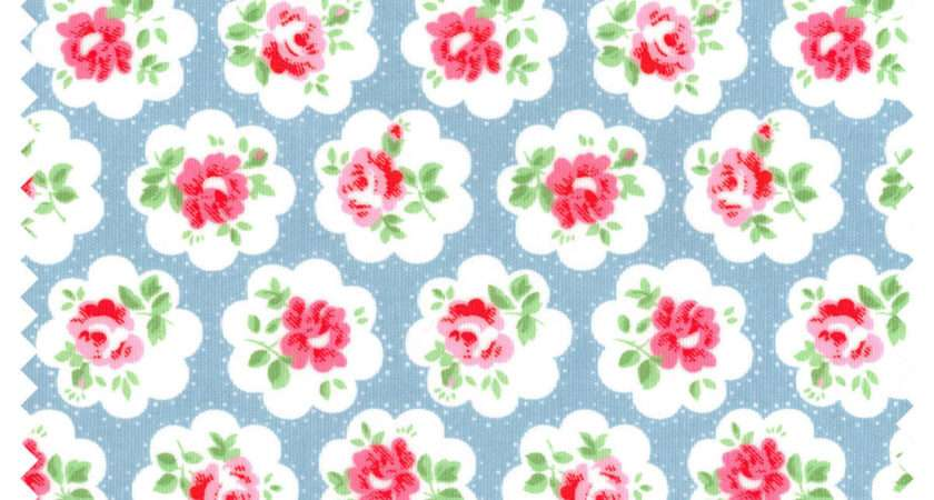 Cath Kidston Provence Rose Cotton Duck Fabric Metre