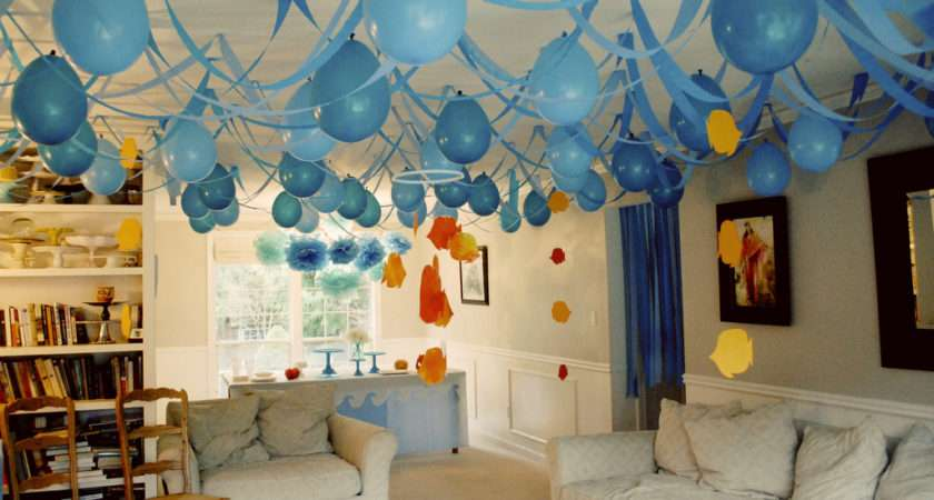 Ceiling Decorating Ideas Birthday Parties