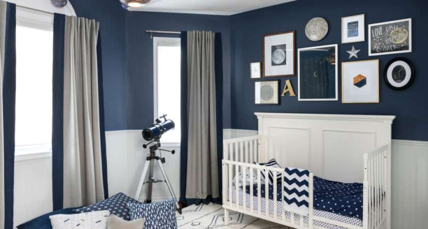 Celestial Inspired Boys Room Project Nursery