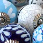 Ceramic Door Knobs Drawer Kitchen Cupboard These