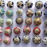 Ceramic Door Knobs Handles Drawer Cupboard Wardrobe Porcelain China