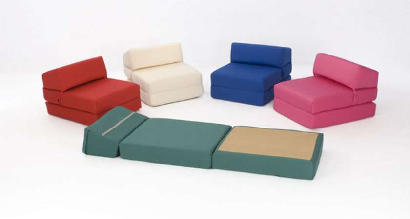 Chair Beds Kids Guest Flop Out Any Colour Cotton Covers