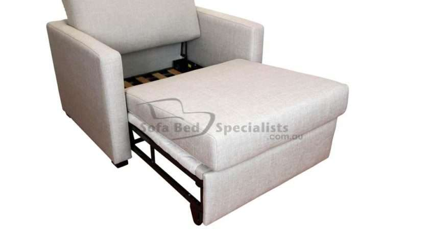 Chair Sofabed Timber Slats Sofa Bed Specialists