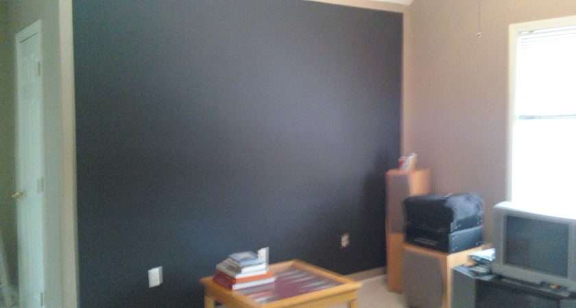 Chalkboard Paint Accent Walls Trim Work Simply
