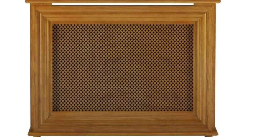 Charlotte Victorian Style Radiator Cover Cabinet Real Oak