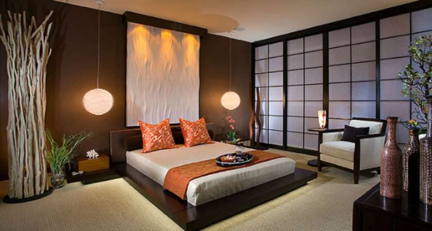Charming Bedrooms Asian Influence Home Design Lover