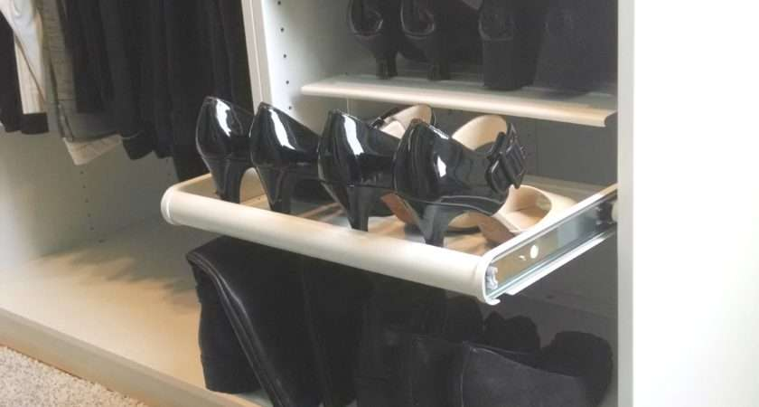 Charming Ikea Komplement Slide Out Rack Pull Shoe