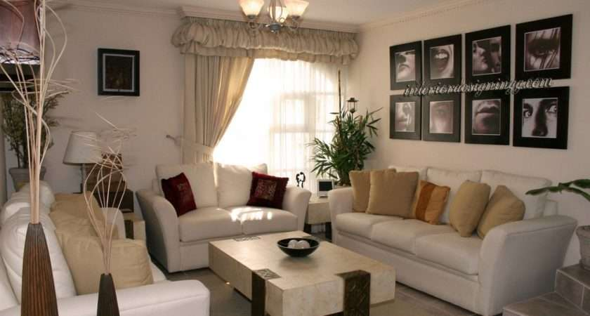 Cheap Decorating Ideas Living Room Walls White