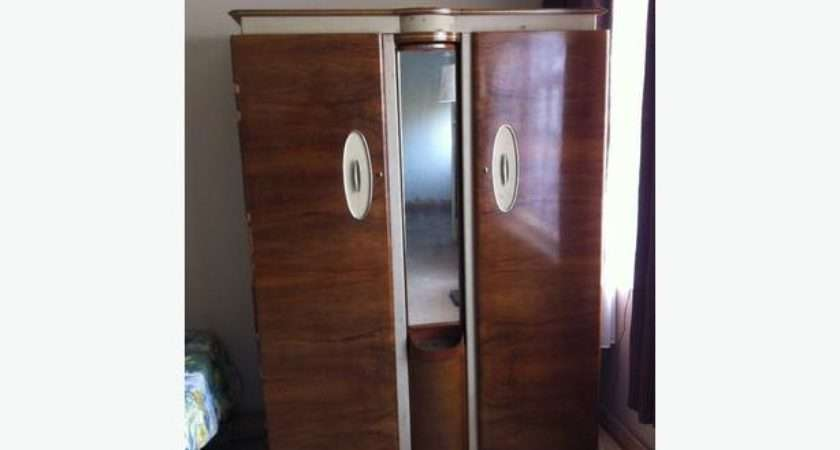 Cheap Wardrobe Solid Wood Vintage His Her Wardrobes