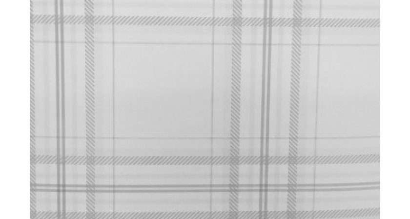 Check Checked Plaid Tartan Chequered Lined Grey