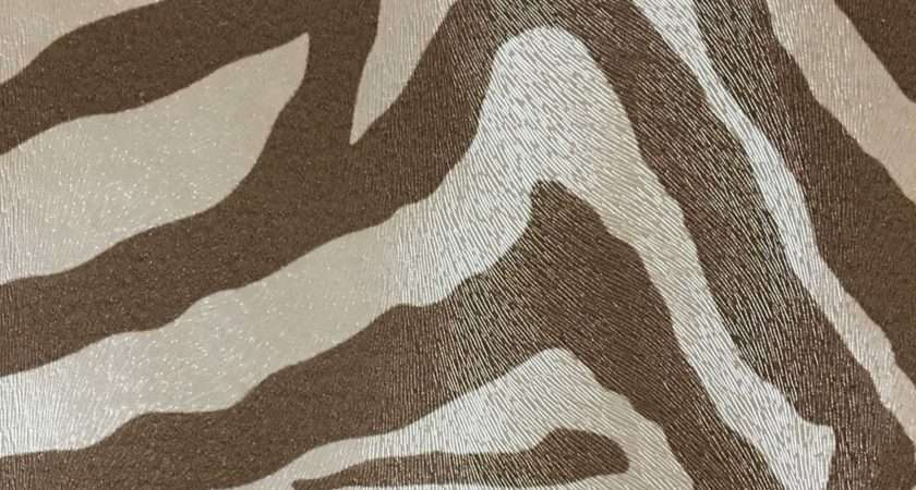 Chester Zebra Print Vinyl Fabric Faux Leather Upholstery